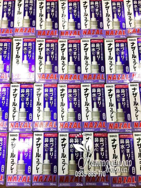 Thuốc xịt mũi Nazal của Nhật, trị sổ mũi ngạt mũi, viêm xoang 4
