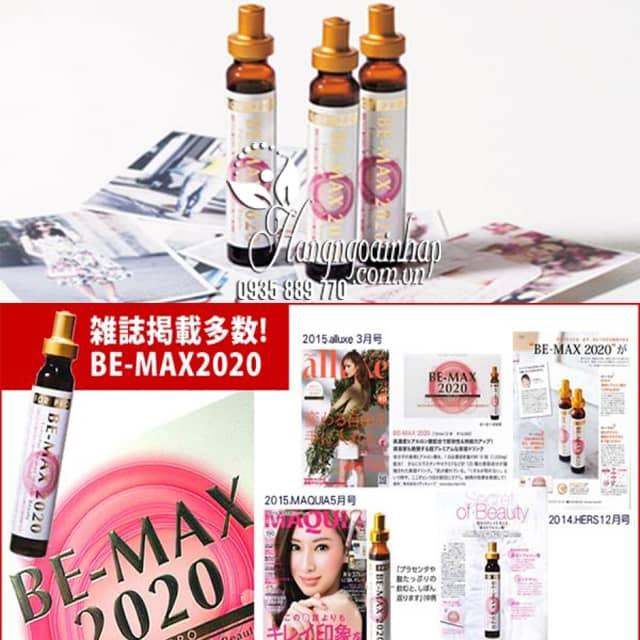 Nước uống đẹp da Be-Max 2020 Nhật, liệu pháp làm đẹp hiện đại 1