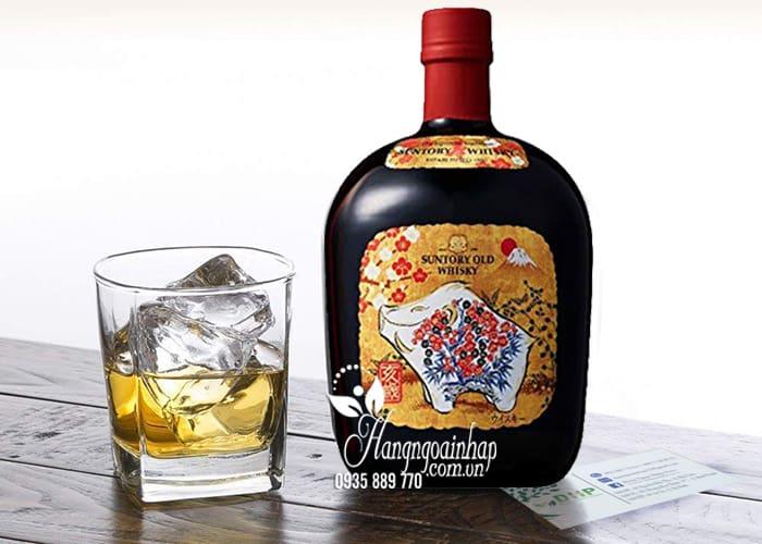 Rượu con heo Suntory Old Whisky 2019 tết Kỷ Hợi của Nhật 4