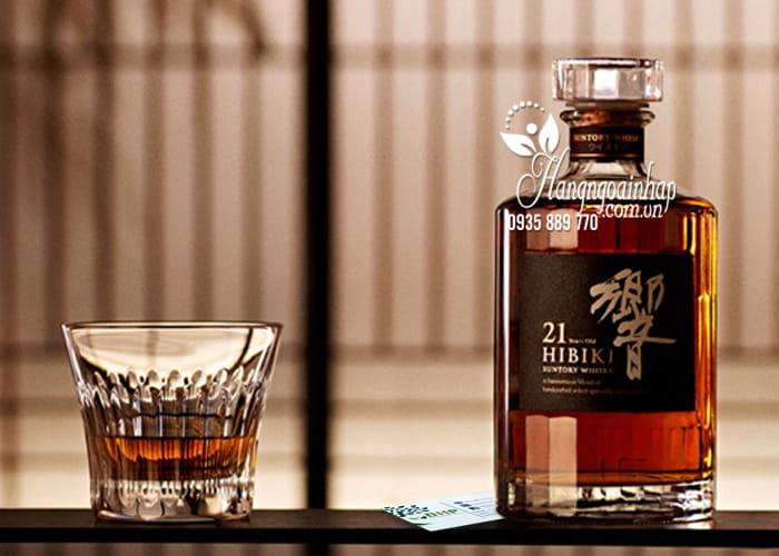 Rượu Hibiki 21 năm Nhật Bản, Hibiki 21 Suntory Whisky 700ml 3