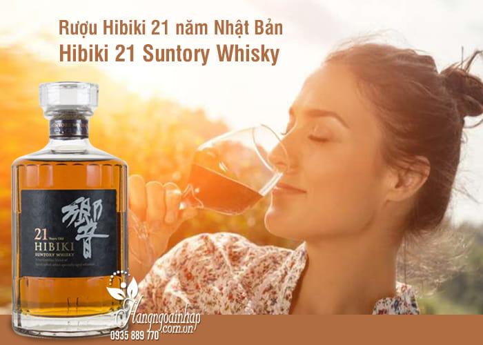 Rượu Hibiki 21 năm Nhật Bản, Hibiki 21 Suntory Whisky 700ml 4