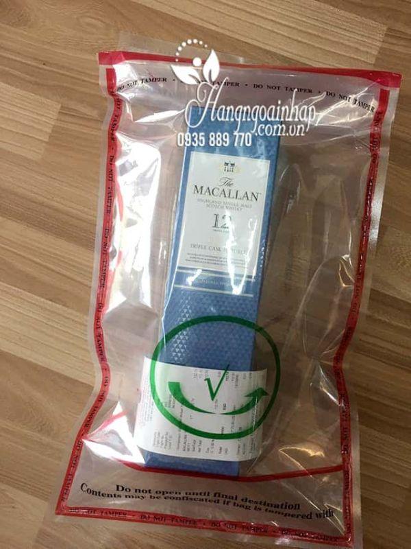 Rượu Macallan 12 Triple Cask, Macallan 12 năm của Scotland 700ml 1