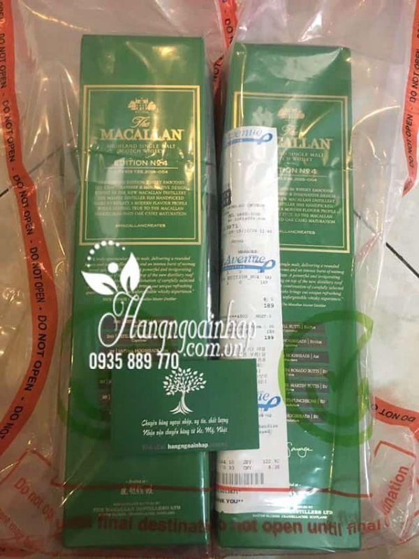 Rượu Macallan Edition No.4 Scotland chai 700ml chính hãng 5