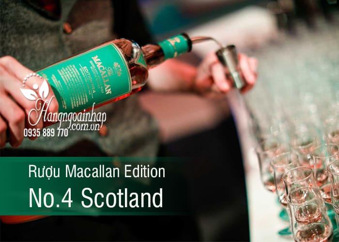 Rượu Macallan Edition No.4 Scotland chai 700ml chính hãng 1