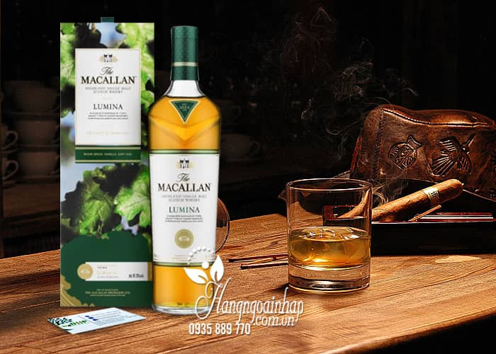 Rượu Macallan Lumina 700ml Scotland, rượu ngon trứ danh 3