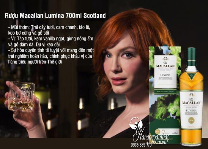Rượu Macallan Lumina 700ml Scotland, rượu ngon trứ danh 1