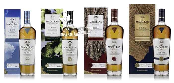 Rượu Macallan Lumina 700ml Scotland, rượu ngon trứ danh 12