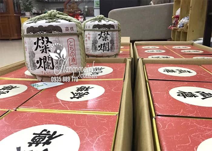 Rượu Sake cối Komodaru Hakushika 1,8 lít của Nhật Bản 2