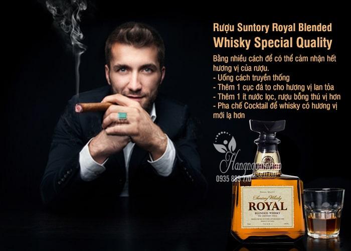 Rượu Suntory Royal Blended Whisky Special Quality 700ml 2