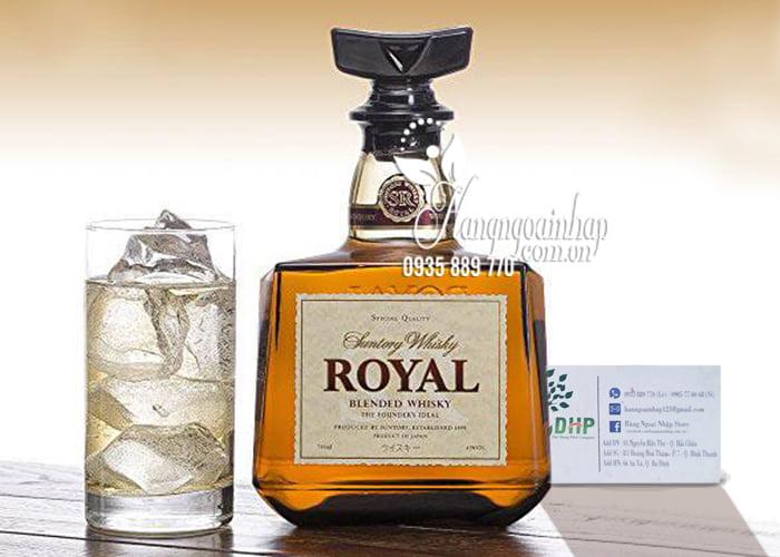 Rượu Suntory Royal Blended Whisky Special Quality 700ml 1