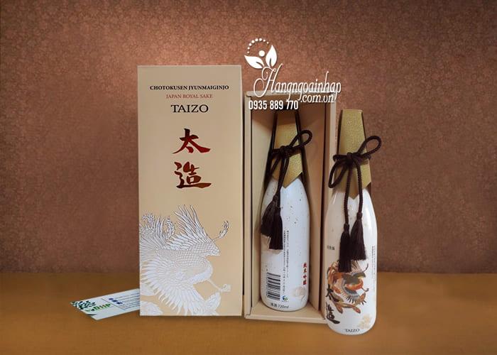 Rượu Taizo Japan Royal Sake - Rượu của hoàng đế Nhật, sang trọng 4