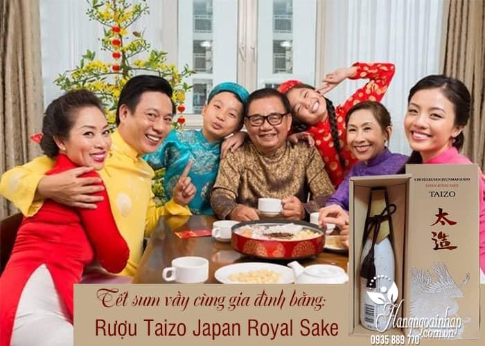 Rượu Taizo Japan Royal Sake - Rượu của hoàng đế Nhật, sang trọng 2