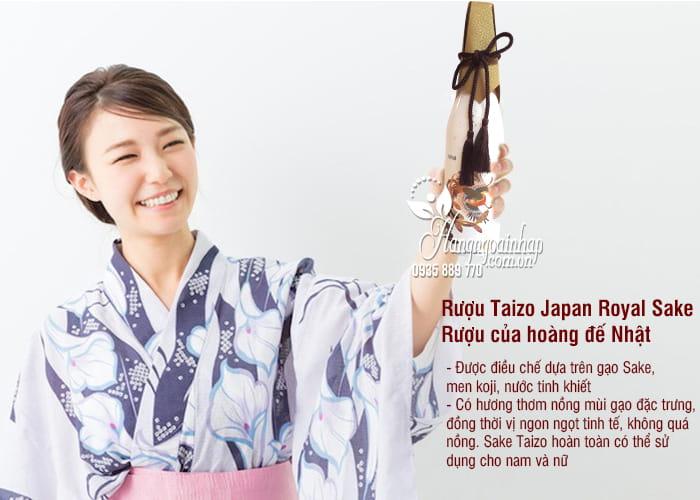 Rượu Taizo Japan Royal Sake - Rượu của hoàng đế Nhật, sang trọng 3