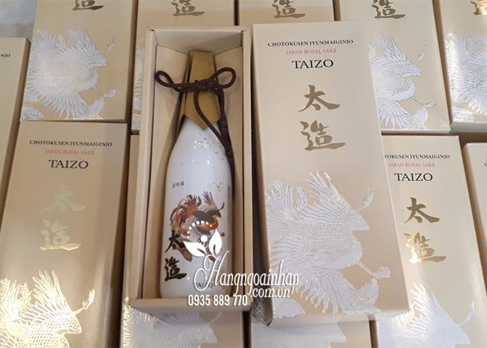 Rượu Taizo Japan Royal Sake - Rượu của hoàng đế Nhật, sang trọng 1