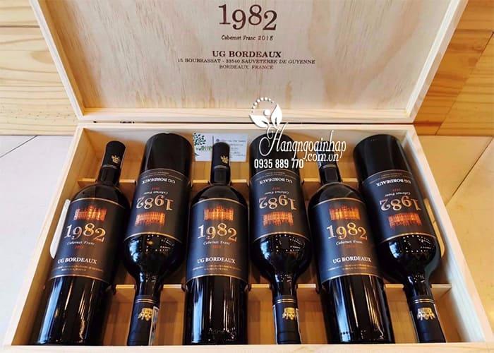 Rượu vang 1982 Cabernet Franc 750ml xách tay Pháp  1