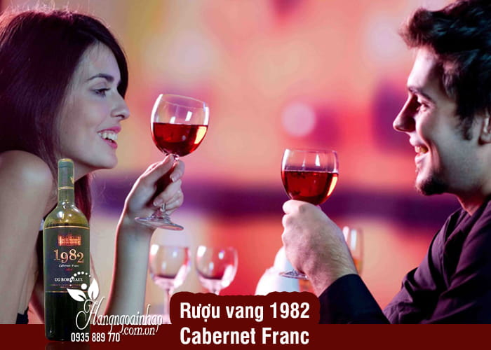 Rượu vang 1982 Cabernet Franc 750ml xách tay Pháp  3