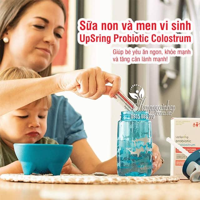 Sữa non và men vi sinh UpSring Probiotic Colostrum 30 gói 1