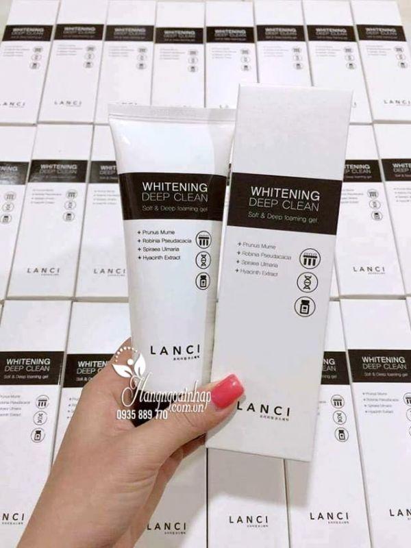 Sữa rửa mặt Lanci Whitening Deep Clean 100ml Hàn Quốc 1