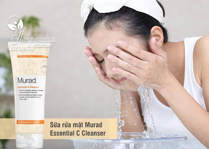 Sữa rửa mặt Murad Essential C Cleanser 200ml của Mỹ 2