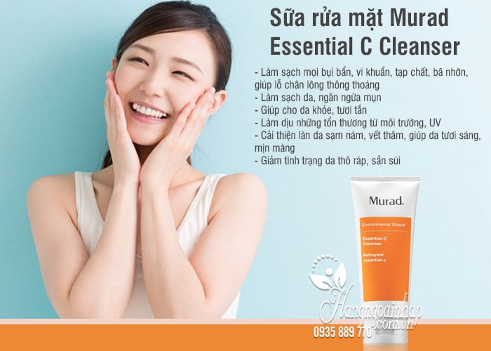 Sữa rửa mặt Murad Essential C Cleanser 200ml của Mỹ 1