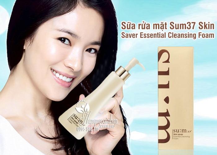Sữa rửa mặt Su:m37 Skin Saver Essential Cleansing Foam Hàn Quốc 7