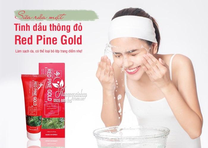 Sữa rửa mặt tinh dầu thông đỏ Red Pine Gold 130ml Hàn Quốc 1