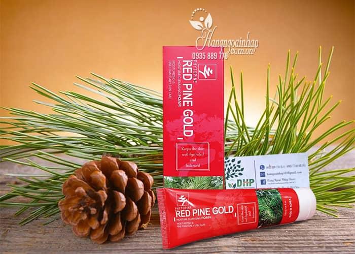 Sữa rửa mặt tinh dầu thông đỏ Red Pine Gold 130ml Hàn Quốc 5