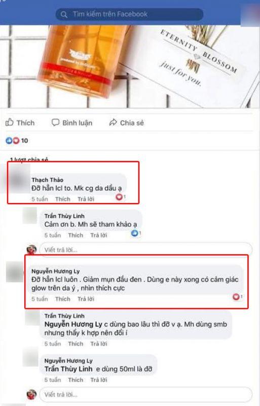 Review serum se khít lỗ chân lông Labo Labo VC Super Keana3