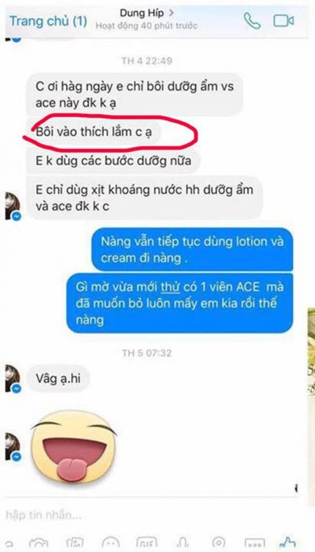 Review Tinh chất serum vitamin ACE Capsule:2