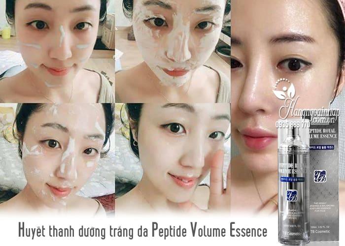 Huyết thanh dưỡng trắng da Peptide Volume Essence 100ml của Hàn Quốc 2