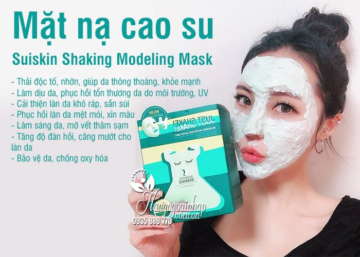Mặt nạ cao su Suiskin Shaking Modeling Mask Hàn Quốc 4