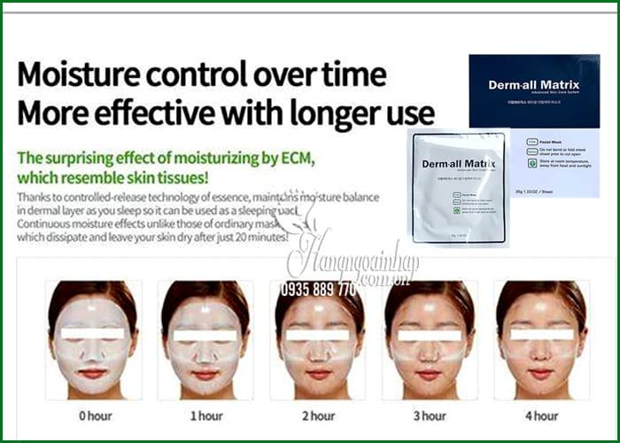 Mặt nạ Derm-All Matrix Mask Hàn Quốc trắng da, chống lão hóa 8