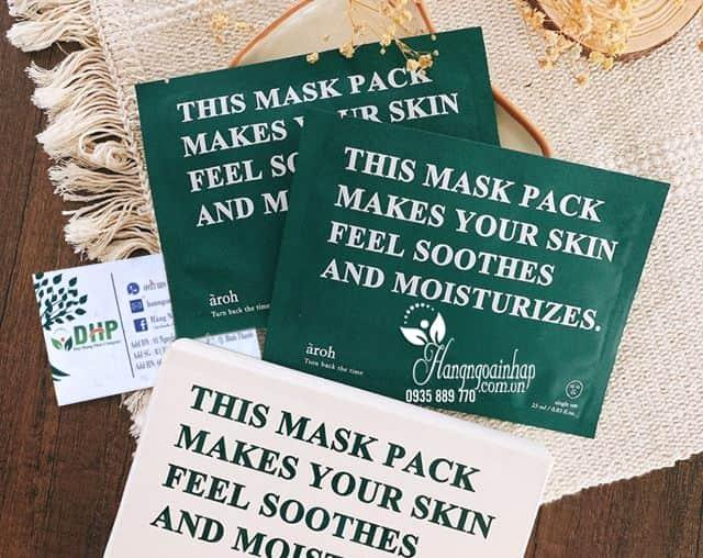 Mặt nạ mát lạnh Aroh This Mask Pack Makes Your Skin 1