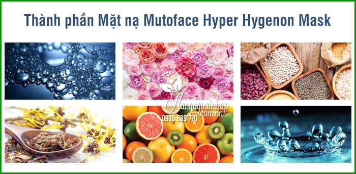 Mặt nạ Mutoface Hyper Hygenon Mask Hàn Quốc 50ml  7