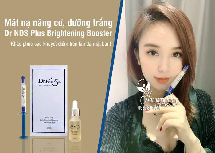 Mặt nạ nâng cơ, dưỡng trắng Dr NDS Plus Brightening Booster 6