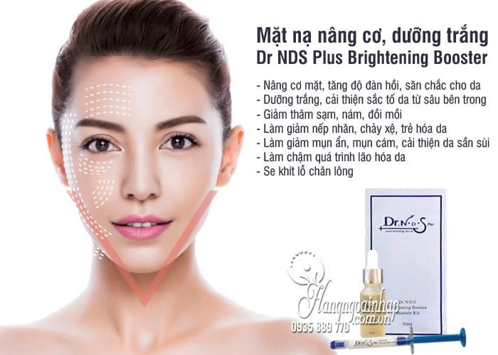Mặt nạ nâng cơ, dưỡng trắng Dr NDS Plus Brightening Booster 5