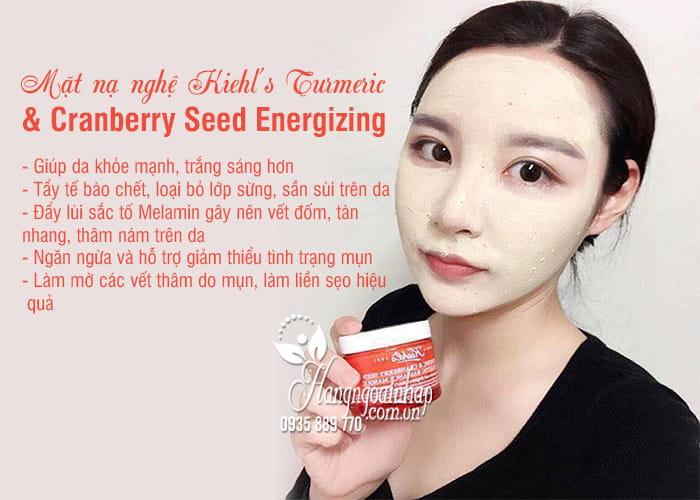 Mặt nạ nghệ Kiehl's Turmeric & Cranberry Seed Energizing 75ml 7