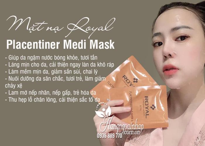Mặt nạ Royal Placentiner Medi Mask Nhật Bản, hộp 5 miếng 3