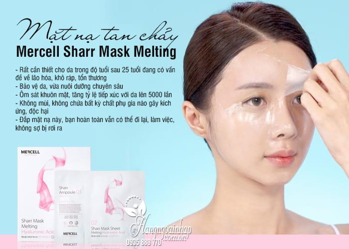 Mặt nạ tan chảy Mercell Sharr Mask Melting của Hàn Quốc 3