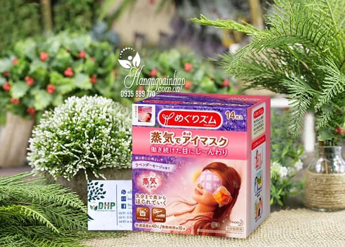 Mặt nạ thư giãn mắt Kao hương Lavender Của Nhật Bản 0