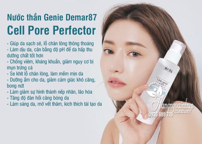 Nước thần Genie Demar87 Cell Pore Perfector 100ml của Hàn Quốc 5