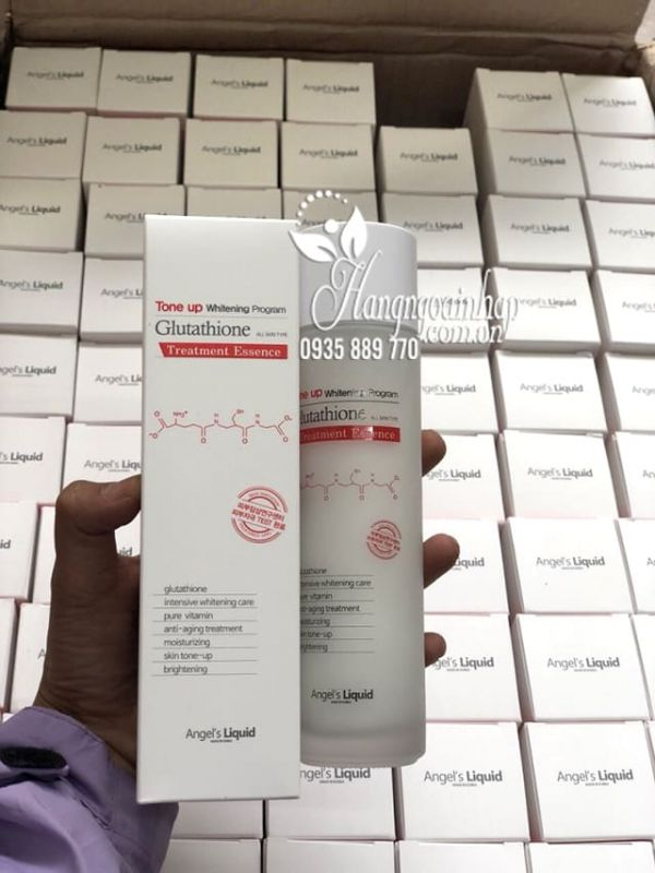 Nước thần Tone Up Whitening Program Glutathione Treatment Essence 4