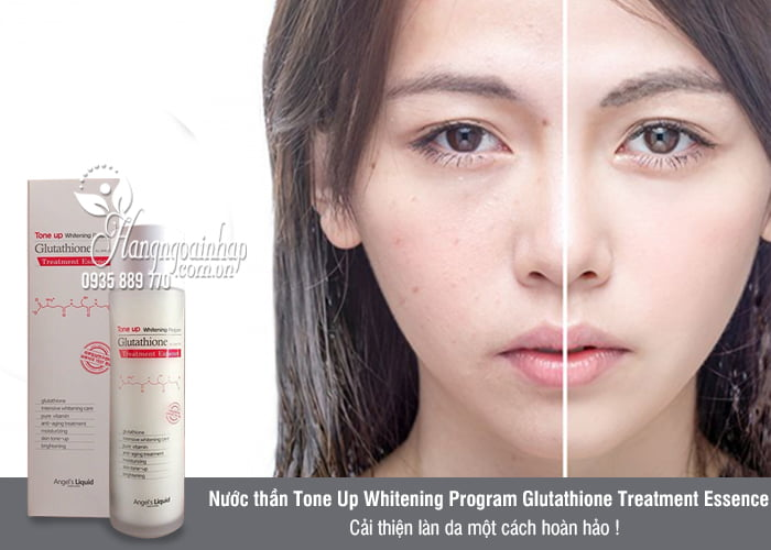 Nước thần Tone Up Whitening Program Glutathione Treatment Essence 2