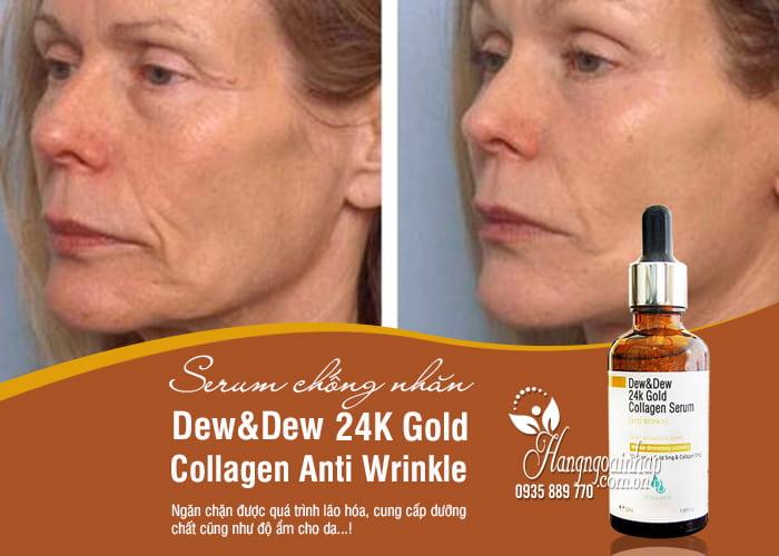 Serum chống nhăn Dew&Dew 24K Gold Collagen Anti Wrinkle 50ml 2