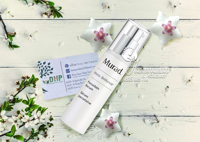 Serum dưỡng trắng da Murad White Brilliance Porcelain Serum 30ml 4