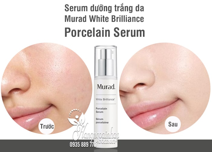 Serum dưỡng trắng da Murad White Brilliance Porcelain Serum 30ml 1
