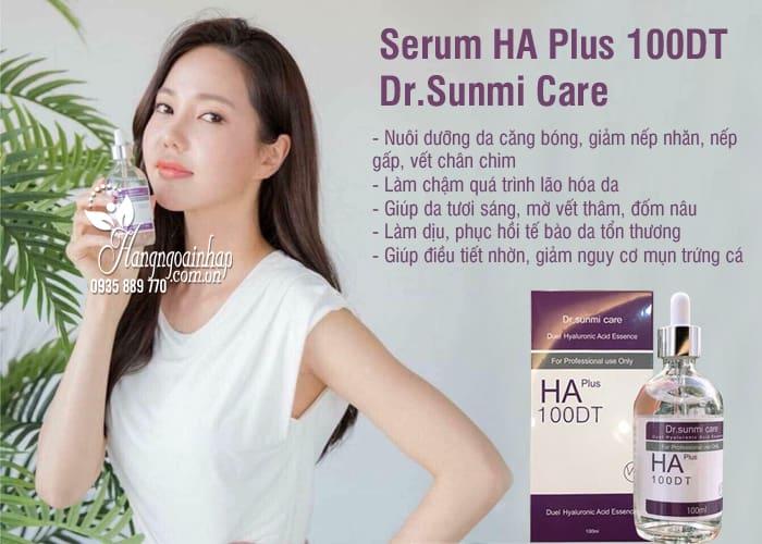 Serum HA Plus 100DT Dr.Sunmi Care 100ml của Hàn Quốc 2