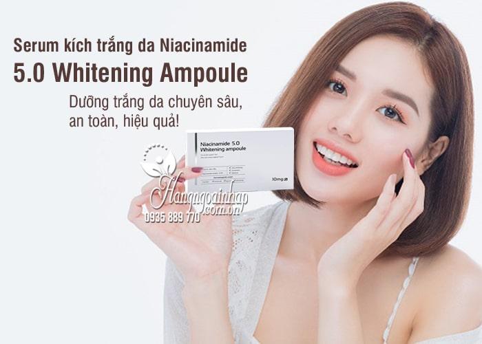 Serum kích trắng da Niacinamide 5.0 Whitening Ampoule 10 x 2ml 7