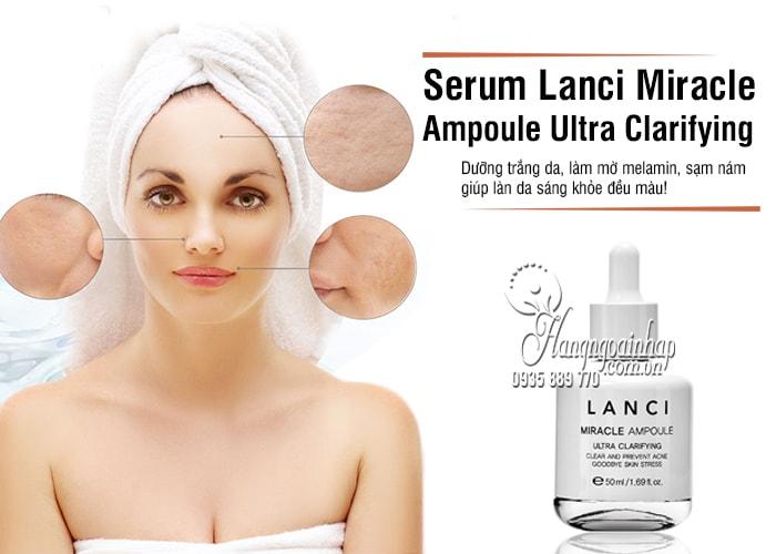 Serum Lanci Miracle Ampoule Ultra Clarifying 50ml Hàn Quốc 8