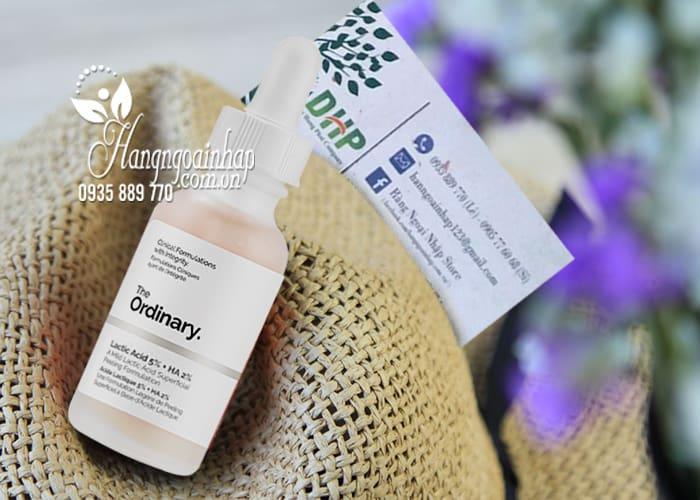 Serum The Ordinary Lactic Acid 5% + HA 2% cho da nhạy cảm 2